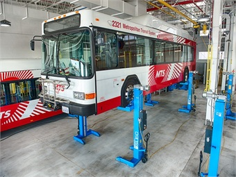 Sefac Inc.'s new 18 Type mobile lift has eliminated features that don't help functionality to enhance ease of use for technicians.
