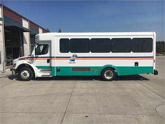 Coupeville, Wash.'s Island Transit has the CLASS system on 13 of its 29-foot Glaval Legacy buses, built on a Freightliner chassis, and has just ordered another seven to be delivered by the end of the year. Island Transit