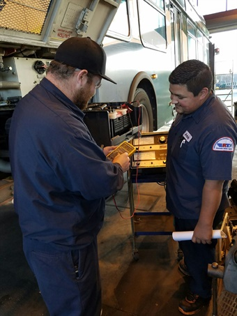 The SCRTTC develops training programs based on needs assessments they conduct with their transit agency partners, which enables them to help fill the maintenance training gap.