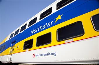 Launched in 2009, the Northstar commuter rail line is currently growing ridership at a rate of 15.1%.