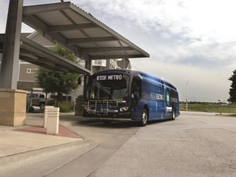 MetroLINK deployed its first eight zero emission battery electric buses and accompanying charging system over the last 18 months.