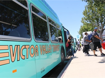 Victor Valley Transit Cultivates Services 'Connecting Community to
