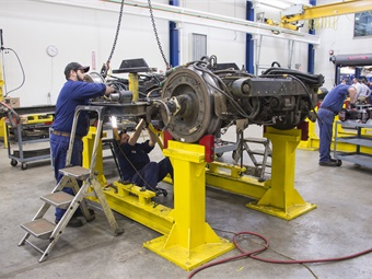 At Metro Transit in Minnesota, more than half of its bus technicians are above the age of 50, mirroring a trend seen across the transit industry. Metro Transit