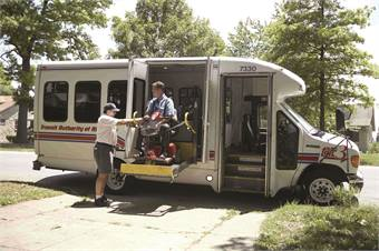 Paratransit systems allow people with disabilities who are unable to regularly access fixed-route systems to fully participate in their communities.
