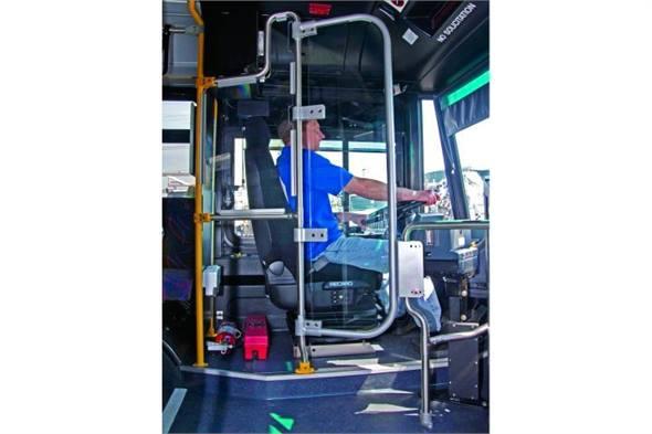 Driver Barrier Enclosures Bus Metro Magazine
