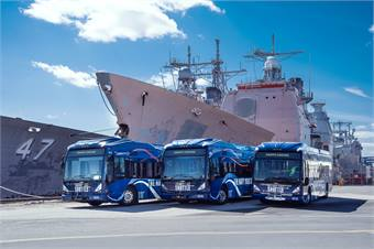 Through their experience with P3s and working with Transportation Management Associations, Krapf's Coaches has been able to secure even more work, including shuttle service for the corporate center at the Philadelphia Navy Yard.