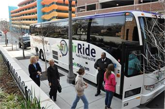 A partnership between Indian Trails and TheRide increased the daily frequency of roundtrips from eight to 12 on the Ann Arbor/DTW segment of Michigan Flyer's route from East Lansing.