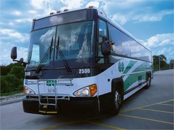 MCI recently delivered 18 Commuter Coaches to Toronto's GO Transit, who is also the company's largest public sector customer with 417 MCIs.