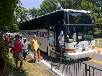 In addition to charters and casino runs, Easton Coach Co. has landed college and university contracts, shuttle work, and transit and paratransit jobs in its service area.
