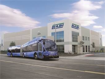 NABI plans on revamping its LFW low-floor bus product to look more like its stylized BRT product line (above). The company believes its BRT models remain way ahead of the pack.