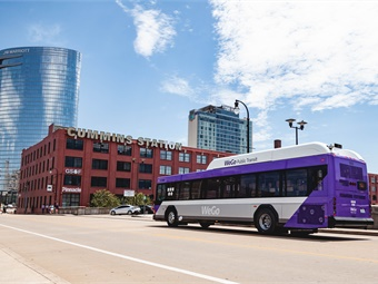 WeGo Public Transit in Nashville will receive funding to replace buses throughout its fleet.