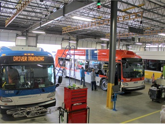 Part of New Flyer's focus over the last several years is to make each one of its facilities, including its Anniston, Ala. plant, look and feel the same.