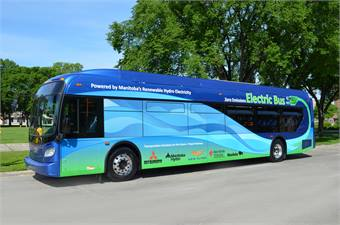 New Flyer continues to work on its electric bus offerings, with Soubry believing the propulsion type will only grow in popularity.