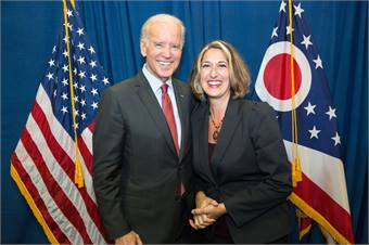 Last year, Shaffer and the Cleveland RTA team hosted Vice President Joe Biden at their rail facility. Recently, Shaffer left RTA to join the Broward County Transit team.