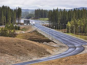 Fig. 7: ASTA ZERO (Active Safety Test Area AB a state-of-the-art Proving Ground test facility in Sweden specifically designed for developments in active traffic safety.