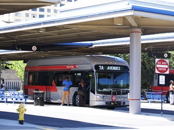 The $33M Jacksonville Regional Transportation Center, which will replace the Rosa Parks Transit Station (shown), will integrate key local, regional intercity service in one location.