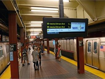 All photos: Marc A. Hermann, MTA NYCT