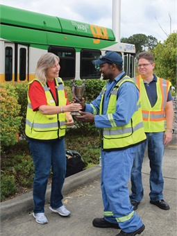 As not only the leader of Pierce Transit, but as a transit advocate to the community, Dreier feels it's an important part of her role to the move the agency forward.