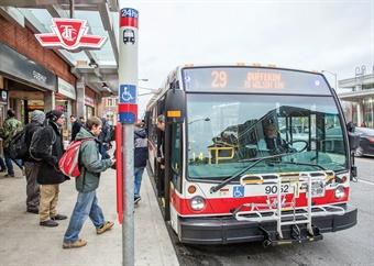 By passenger volume, the TTC is North America's third-largest transit system. Photo: TTC