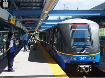 For the last three years, Vancouver's TransLink has the led the U.S. and Canada in ridership growth.TransLink