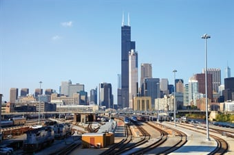 Design-build reduces delivery time, which was evident in the rehabilitation of Amtrak's Chicago Union Station Yard. Photo: HNTB