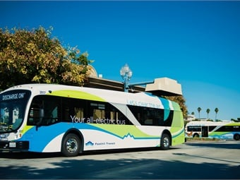 From 2010 to 2016, Foothill Transit's 15 electric buses eliminated 2,616 tons of greenhouse gases. RNL