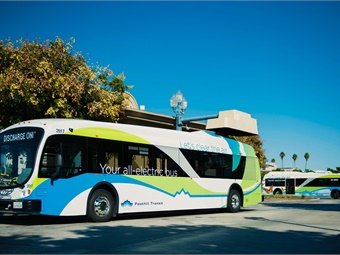 From 2010 to 2016, Foothill Transit's 15 electric buses eliminated 2,616 tons of greenhouse gases.