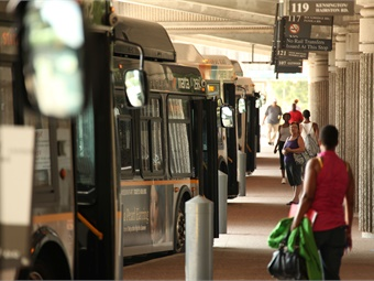 As part of its bus service revamp, MARTA has begun purchasing buses of varying sizes to better accommodate the lines being served.