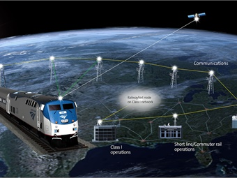 Amtrak plans to equip approximately 310 locomotives to operate using positive train control (PTC) technology and comply with that federal requirement by Dec. 31, 2018. Graphic courtesy of Amtrak.