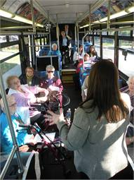 The Riverside Transit Agency's travel training instructors work individually and in groups until the clients are comfortable using its regular fixed-route services.