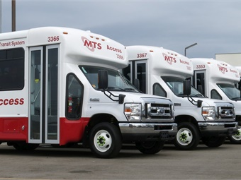 MTS will save about $5.8 million over the five- to seven-year lifecycle of the vehicles. The agency has put metrics in place to measure economic success. Photo courtesy San Diego MTS.