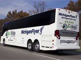 Along with the launch of Brighton service on October 1, Michigan Flyer will add more daily roundtrips between the East Lansing Marriott and Detroit Metro Airport.