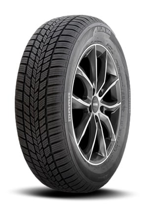 The all-season 4Run M4 tire for passengers cars and SUVs has a V-shaped pattern designed to improve perfromance and handling on snowy and wet roads.