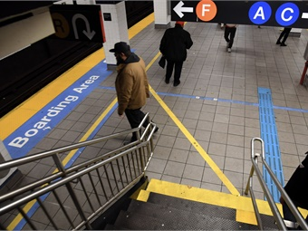 The Accessible Station Lab pilot is a milestone toward delivering on the Fast Forward goal to accelerate the rollout of accessibility features across the subway system.2019 Metropolitan Transportation Authority / Marc A. Hermann
