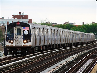 NYC Transit engineers chose four locations for the netting pilot based on the results of these inspections, identifying two century-old elevated stations and two sections of elevated tracks on curve. MTATrain