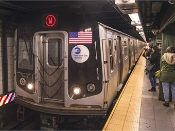 New York City's subways have long run on a fixed-block signaling system.