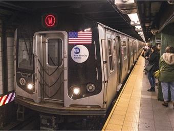 New York City's subways have long run on a fixed-block signaling system. MTA/Patrick Cashin