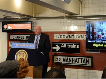 MTA Chairman/CEO Thomas Prendergast