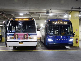 The RTS buses have been replaced by a modern, low-emissions fleet that includes new state-of-the-art hybrid and zero-emissions vehicles (shown on right).