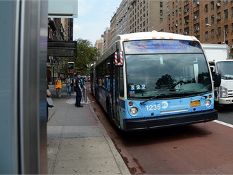 MTA New York City Transit President Andy Byford cited improvements to bus service in all five boroughs as one of his top four goals when he started his position in January. Marc A. Hermann