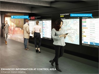 All renderings courtesy NY MTA.