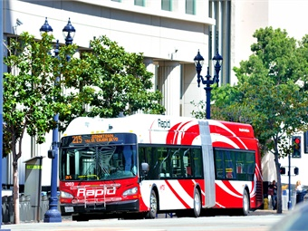 While Trolley ridership has led the resurgence, bus ridership has experienced more than 400,000 extra passenger trips over last year.