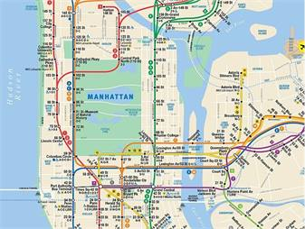 Queens And Manhatan Subway Map.N Y Mta Introduces Interactive Subway Map Rail Metro Magazine