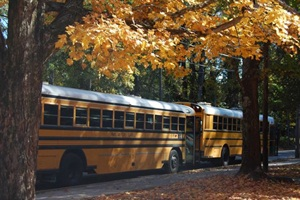 In two years, illegal passing of Marietta City Schools buses decreased from 192 reported incidents in a day to 112. Photo by Lisa Leavell