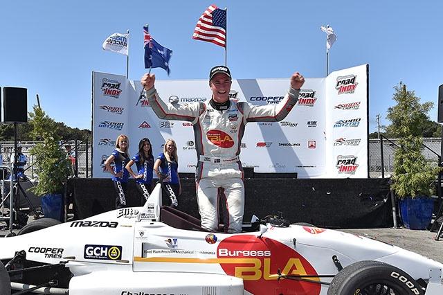 Anthony Martin, 2016 USF2000 Champion.