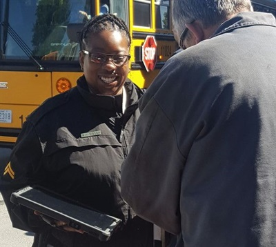 Maryland Goes Electronic With School Bus Inspections