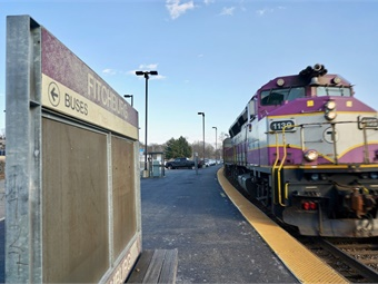 Census data shows only about one in every 50 residents living near a Massachusetts Gateway City station takes a train to work.Photo: MassINC