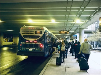 Many hubs from LAX to Boston's Logan International Airport (shown) are creating new regulations to combat the traffic problem in advance of the busiest travel season. J. Starcic/METRO Magazine