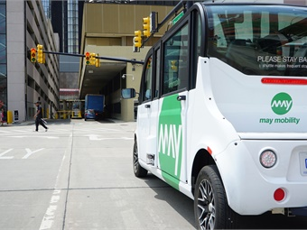 The Grand Rapids Autonomous Mobility Initiative will operate on a 3.2-mile section of the city's existing DASH West bus route, which provides access to both downtown Grand Rapids and the city's West Side and Heartside business districts.