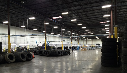 McCarthy Tire is producing tires at its new Bandag retread plant in Wilkes-Barre, which it moved into last week.